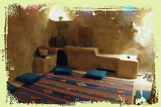 Meditation Room at White Lotus Retreat