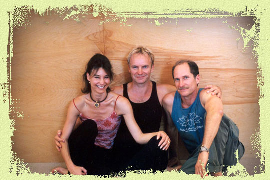 Sting at White Lotus Retreat